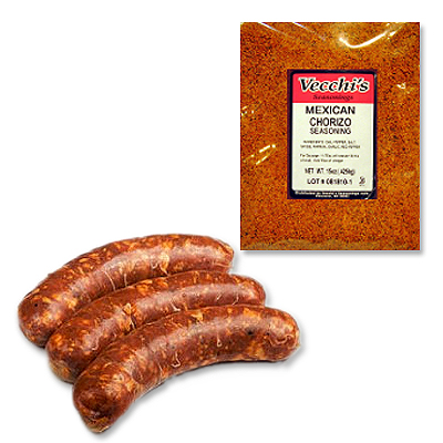 CHORIZO SEASONING VECCHI **TEMORARILY NOT AVAILABLE**