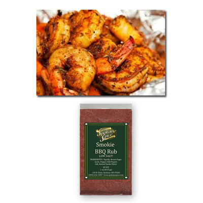Dry Rub Smokie BBQ - Ground