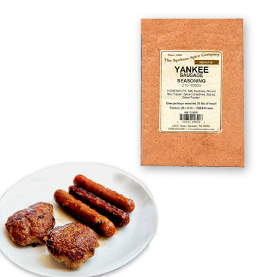 BREAKFAST SAUSAGE SEASONING-YANKEE For 25 Lbs