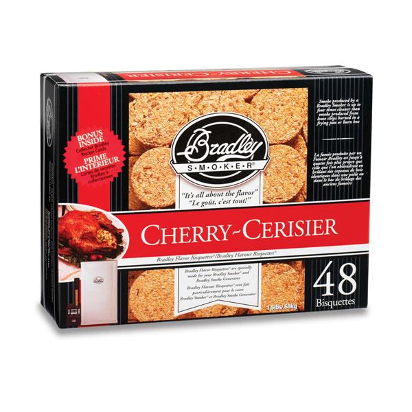 Bradley Cherry Smoking Bisquettes 48