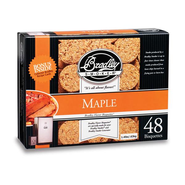 Bradley Maple Smoking Bisquettes 48