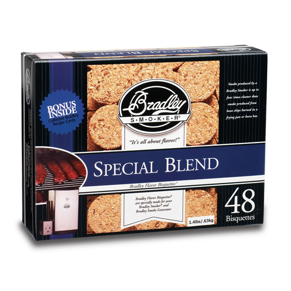 Bradley Special Blend Smoking Bisquettes 48