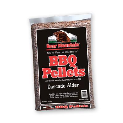 Bear Mountain Alder BBQ Pellets 20 LBS