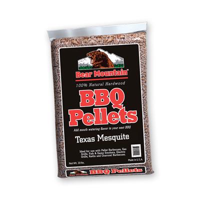 Bear Mountain Mesquite BBQ Pellets 20 LBS