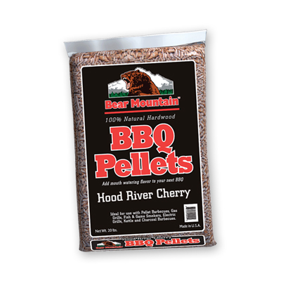 Bear Mountain Cherry BBQ Pellets 20 LBS