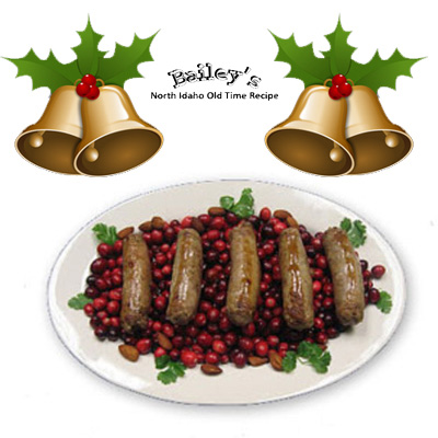 Bailey's Holiday Sausage Seasoning for 25 lbs