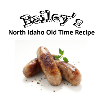 Bailey's Pork Sausage for 25 lbs