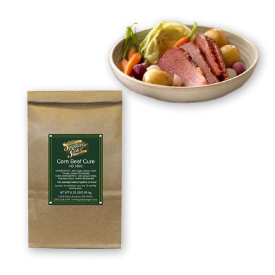 CORNED BEEF CURE & SEASONING
