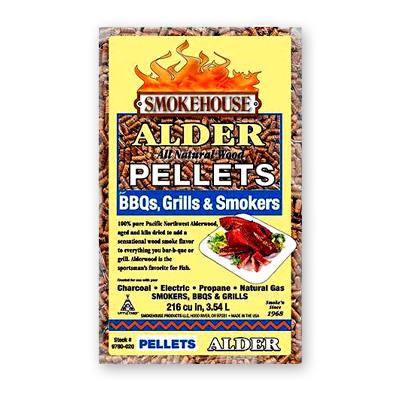Smokehouse Alder BBQ Pellets 5 LBS