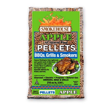 Smokehouse Apple BBQ Pellets 5 LBS