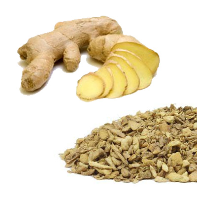 Ginger Root - Cut
