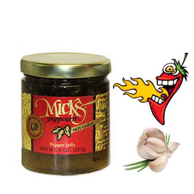 Mick's Hot Garlic Pepper Jelly