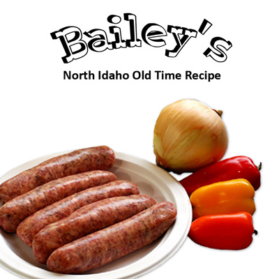 Bailey's Onion and Pepper Sausage Season - Ground