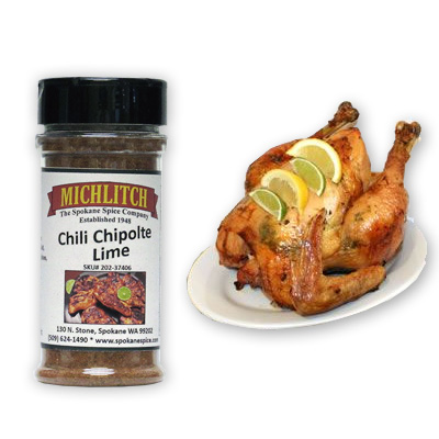 Dry Rub Chili Chipotle Lime - Ground