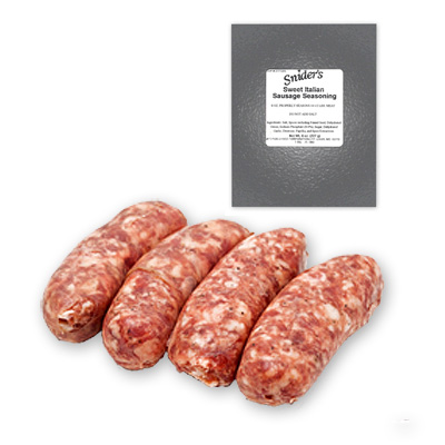 Snider's Sweet Italian Sausage Seasoning - Ground