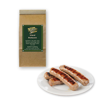 Bratwurst Inland NW Seasoning - Ground