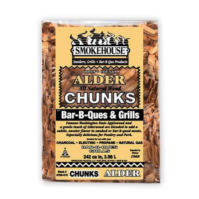 Smokehouse Alder BBQ Chunks 1.75 lbs