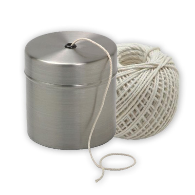 Butcher's Twine-Cotton Small With SS Holder