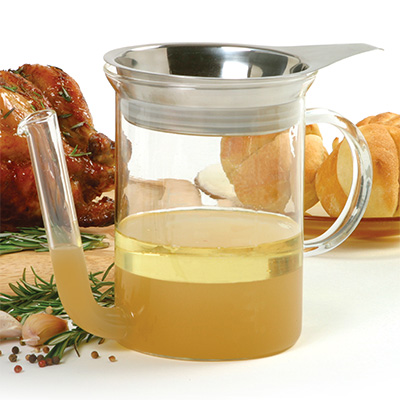 Gravy Separator with Strainer
