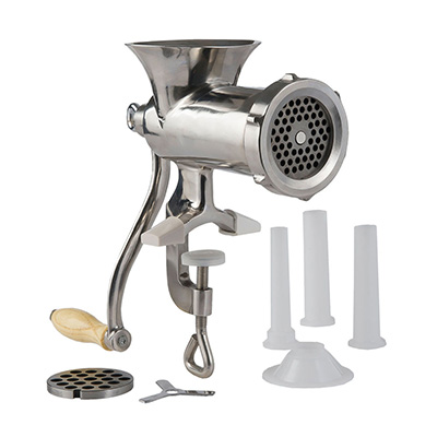 #10 Hand Meat Grinder  Stainless Steel