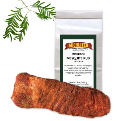 Dry Rub Mesquite - Ground