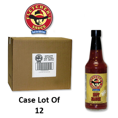 SAUCE FLETCHER'S HOT LARGE-CASE