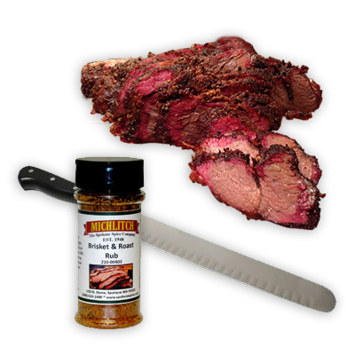 Dry Rub Brisket & Roast Rub - Ground
