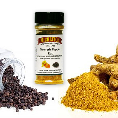 Black Pepper & Turmeric - Ground