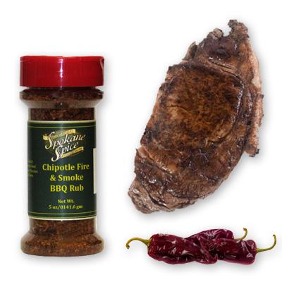 Dry Rub Chipotle Fire & Smoke BBQ - Ground