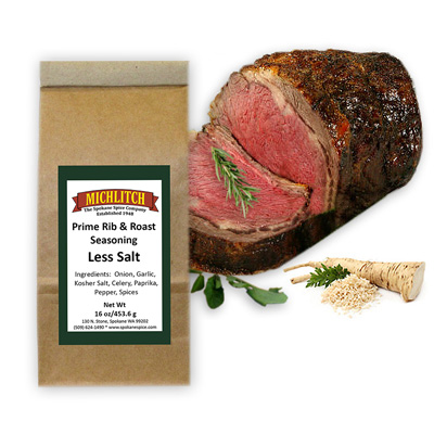 Prime Rib Low Salt - Ground