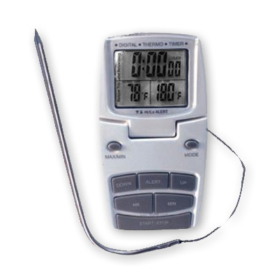 THERMOMETER  COOKING TIME