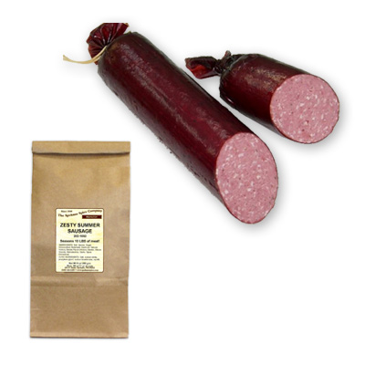 Zesty Summer Sausage - Ground