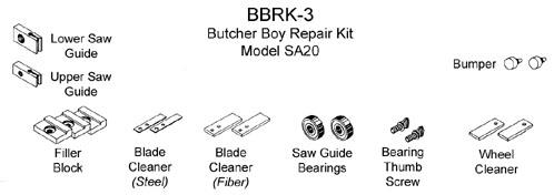 REPAIR KIT BUTCHER BOY BBRK-3