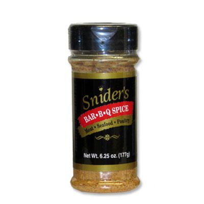 Snider's BBQ Spice 6.25oz Shaker
