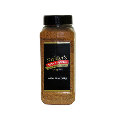 Snider's BBQ Spice 34oz Shaker