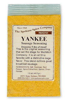 Breakfast Sausage Yankee Seasoning - Ground