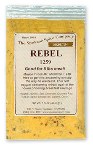 Breakfast Sausage-Rebel 1259 for 5#